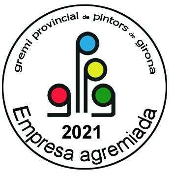 Empresa agremiada al gremi provincial de pintors de Girona - 2021